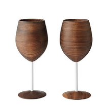 Handcrafted Set of Wine Glasses